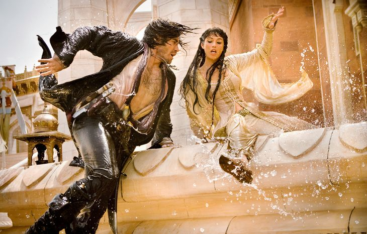 """Hollywood movies that performed poorly at the box office relative to what they cost to produce include """"Prince of Persia: The Sands of Time"""" with Jake Gyllenhaal and Gemma Arterton. (Associated Press/Disney)"""