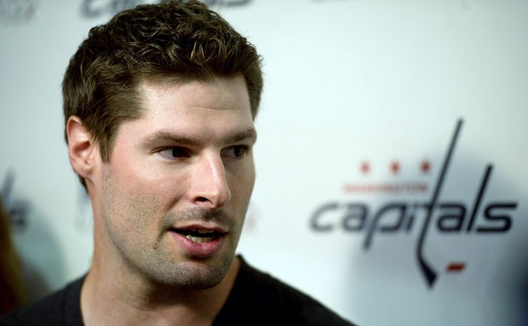 Capitals winger Troy Brouwer misses the structure of the hockey season. (Rod Lamkey Jr./The Washington Times)