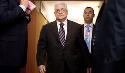 Palestinian Authority President Mahmoud Abbas is gambling  on a favorable response about statehood from the U.N. (Associated Press)