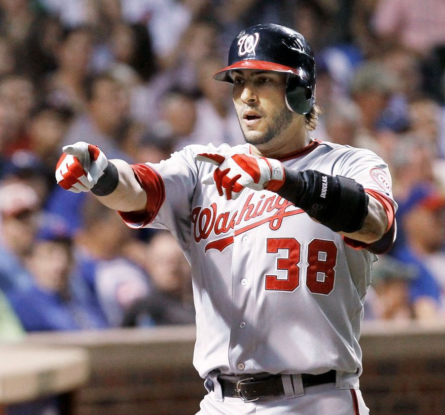 Nationals slugger Michael Morse was a career utility player until taking over at first base for Adam LaRoche, who suffered a season-ending shoulder injury. (Associated Press)