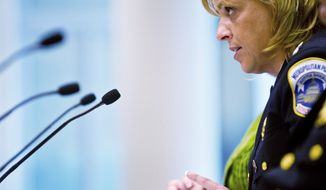 Metropolitan Police Chief Cathy L. Lanier.  (Drew Angerer / The Washington Times)