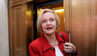 Sen. Claire McCaskill, Missouri Democrat, who won her seat narrowly in 2006 and is up for re-election in 2012, has no shortage of would-be GOP challengers. (Associated Press)