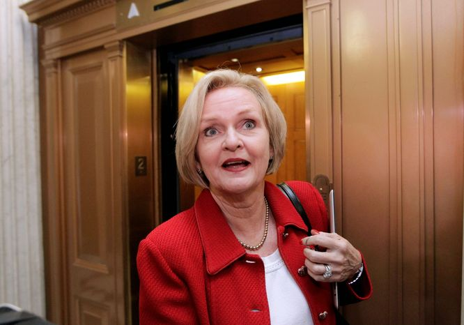 Sen. Claire McCaskill, Missouri Democrat, who won her seat narrowly in 2006 and is up for re-election in 2012, has no shortage of would-be GOP challen