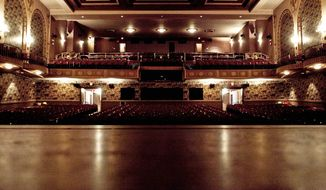 LANDMARK: Entertainers such as Ella Fitzgerald, Duke Ellington and Louis Armstrong performed at the Lincoln Theatre during a time when segregation barred patrons from downtown theaters. The venue faces a financial crisis. (T.J. Kirkpatrick/The Washington Times)
