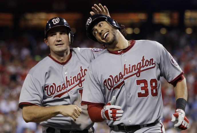 Washington Nationals' Ryan Zimmerman and Michael Morse will be at the forefront of the Nationals' attack next year. P