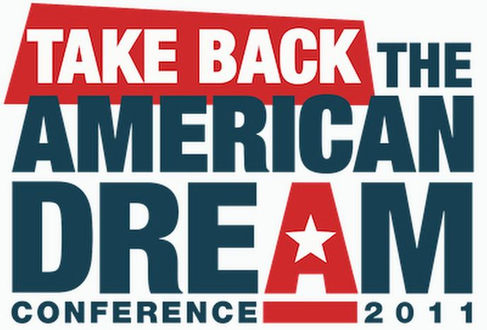 """Van Jones' """"Take Back the American Dream"""" conference gets under way in Washington on Monday. """"You are going to see an American fall, an American autumn, just like"""