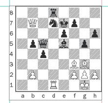 Nakamura-Anand after 24...Bxe5.