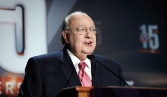 Fox News Channel Chairman and CEO Roger Ailes. (Associated Press) ** FILE **