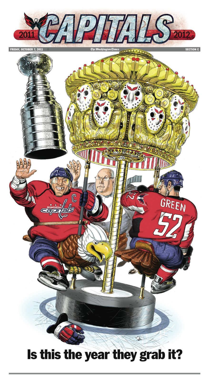 The Washington Times' 2011-12 Washington Capitals special preview section.