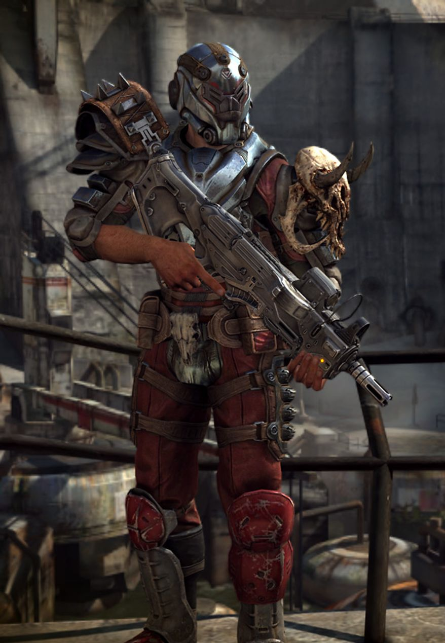 Players get the Crimson Elite armor in the video game Rage: Anarchy Edition.