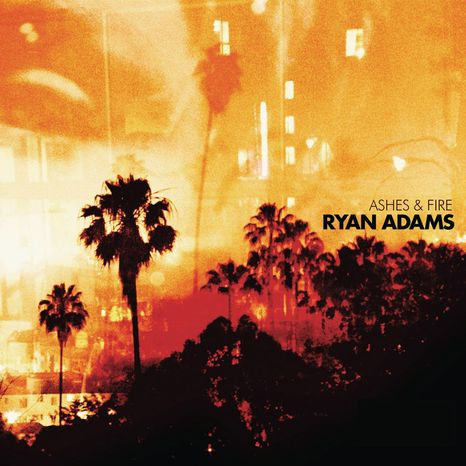 """In this CD cover image released by PAX-AM/Capitol, the latest release by Ryan Adams, """"Ashes & Fire"""" is shown. (AP Photo/PAX-AM/Capitol)"""