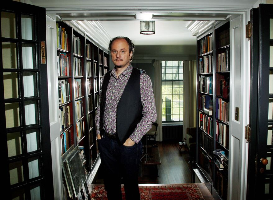 "Novelist Jeffrey Eugenides, at home in Princeton, N.J., is the author of one of this fall's most anticipated novels, ""The Marriage Plot."" It took him nine years to complete, as did ""Middlesex,"" the novel that won him a Pulitzer and a spot on Oprah Winfrey's book club. (Associated Press)"