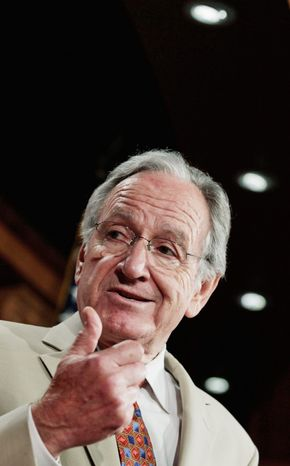 Sen. Tom Harkin, Iowa Democrat, as chairman of the education panel had promised a reform bill in the spring. He is expected to present his plan Tuesday. (Associated Press)