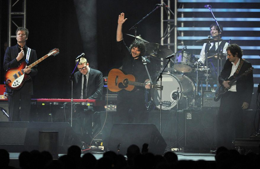 """Wilco released a new album last month, """"The Whole Love,"""" that debuted at No.5 on the Billboard 200 album chart. (Associated Press)"""