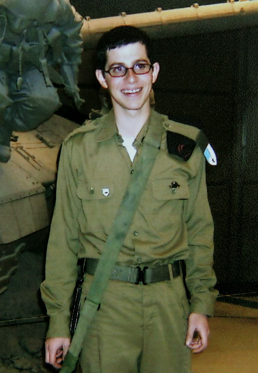 ** FILE ** Israeli Defense Forces Sgt. Gilad Schalit has been held by Hamas since 2006. (AP Photo, File)