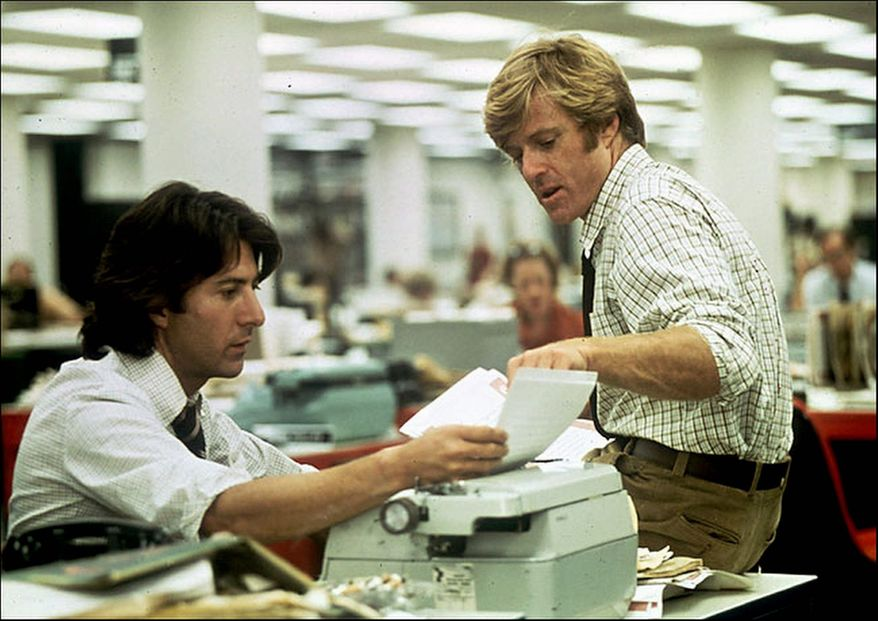 'All The President's Men' will be featured at the AFI Silver Theatre and Cultural Center on Friday, Oct. 14.