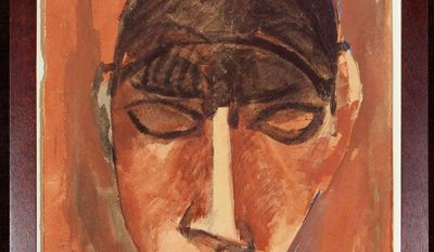 Picasso's Portrait of Alice B. Toklas, Woman with a Fringe (National Portrait Gallery)