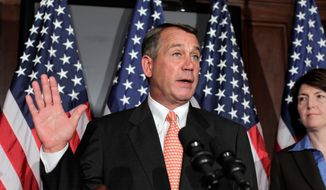 """Listen, we've done four or five solid, jobs-creation bills this week and this bill was part of our Pledge to America,"" said House Speaker John A. Boehner of the measure to bar federally-subsidized insurance plans from covering abortions. ""We're keeping our word to the American people."" (Associated Press)"