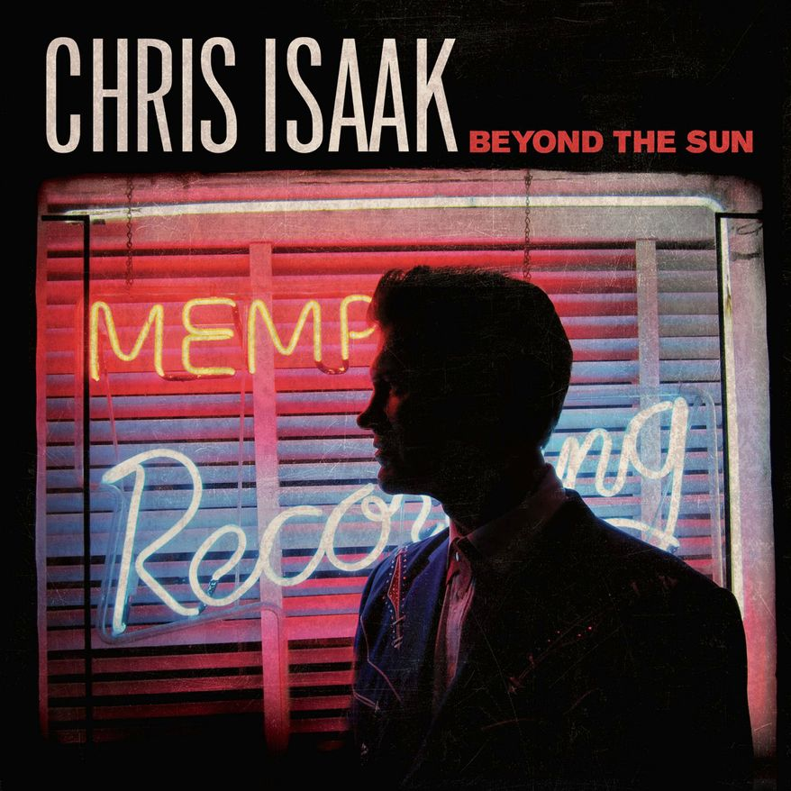 "Album cover for Chris Isaak ""Beyond the Sun"". (Vanguard Records)"