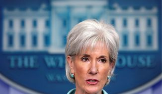"""""""Despite our best analytical efforts, I do not see a viable path forward for CLASS implementation at this time,"""" Health and Human Services Secretary Kathleen Sebelius said Friday of the health care law provision that included nursing homes and in-home aides for the disabled. (Associated Press)"""