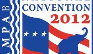Even with 312 days still to go until party time in Tampa, Fla., the 2012 Republican National Committee has already unveiled its logo, website and countdown clock. (Republican National Committee)