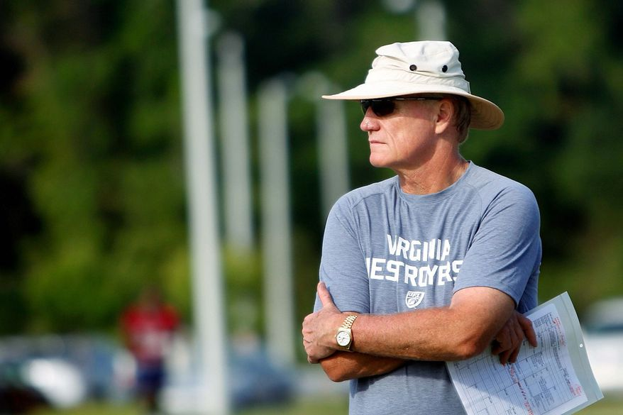 THE COACH: Marty Schottenheimer, head coach of the United Football League's Virginia Destroyers, took his team to three double-digit victories in the regular season. It plays the league title game Friday. (VIRGINIAN-PILOT)