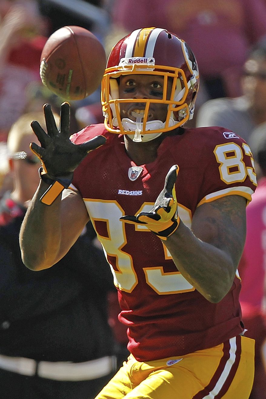 Washington Redskins tight end Fred Davis and left tackle Trent Williams reportedly violated the league's substance abuse policy by testing positive for recreational drugs and will face disciplinary action. (AP Photo/Pablo Martinez Monsivais)