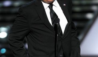 "Jay Leno will play host to President Obama on NBC's ""Tonight Show"" Tuesday night. (Associated Press)"