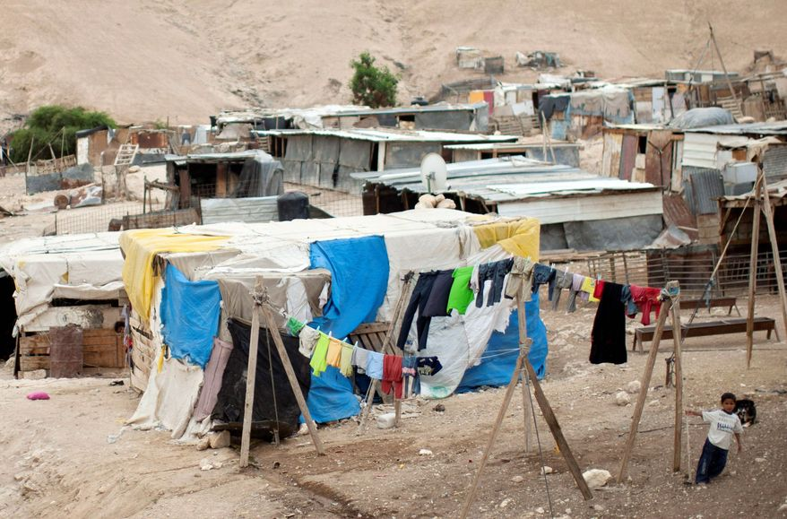 Decades of fraught relations between the Israeli government and Bedouin Arabs living in the hardscrabble Negev Desert are coming to a head over a state plan that would expel 30,000 of the nomads from unauthorized tent encampments and shantytowns and move them into some of the country's most destitute towns. (Associated Press)