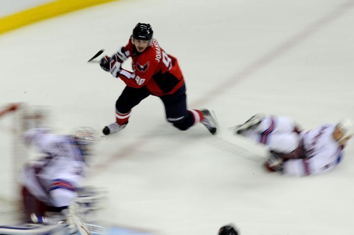 Marcus Johansson's speed is an invaluable asset short-handed, as penalty-killing situations quickly can become scoring opportunities. (The Washington Times)