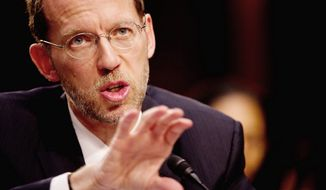 ** FILE ** Douglas W. Elmendorf, director of the Congressional Budget Office. (Andrew Harnik/The Washington Times)