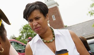 D.C. Council member Muriel Bowser