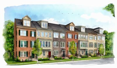 Miller & Smith is building 256 town homes and town-home-style condominium homes at Gallery Park in Clarksburg. The homes have approximately 1,226 to 1,862 finished square feet, with base prices from $239,990 to $309,990.