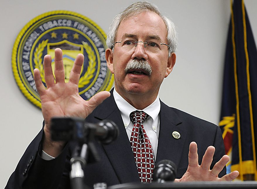 **FILE** Kenneth E. Melson, former director of the Bureau of Alcohol, Tobacco, Firearms and Explosives (ATF) (Associated Press)