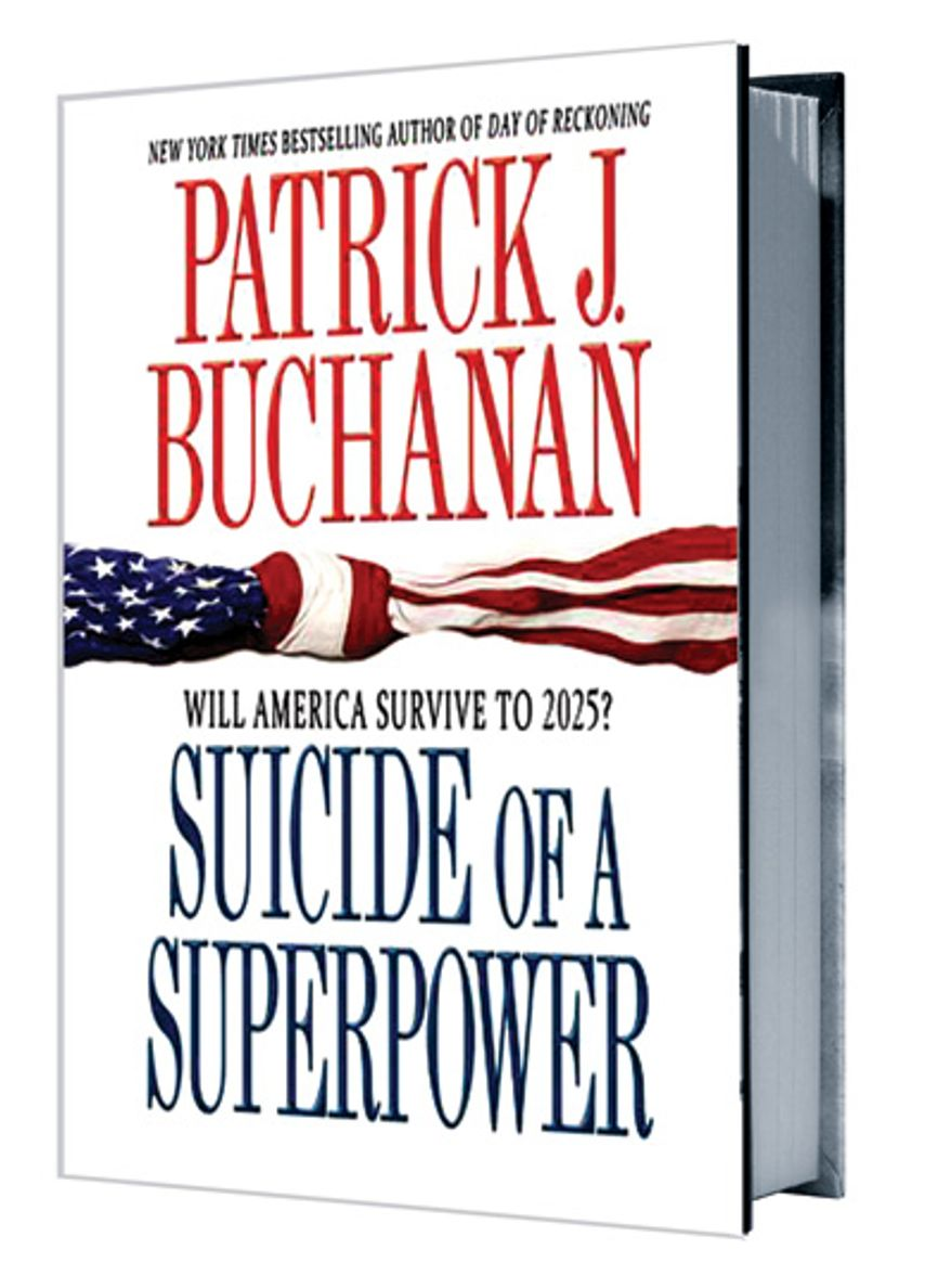 Book Cover: Patrick J. Buchanan, Suicide of a Superpower