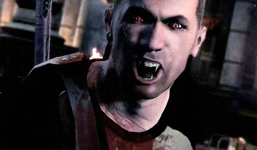 Cole MacGrath becomes a vampire in the video game download inFamous: Festival of Blood.