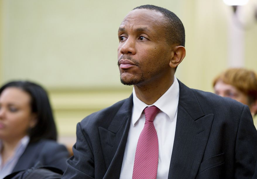 A congressional oversight panel criticized the vetting of Sulaimon Brown, who was hired and then fired this year from a city agency at the outset of the mayor's term. (Barbara L. Salisbury/The Washington Times)