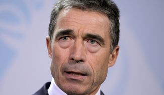 NATO Secretary-General Anders Fogh Rasmussen (AP Photo/Michael Sohn)