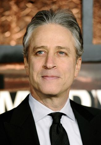 """""""Did you spot the trend amongst the Republican nominees?"""" Jon Stewart asked recently on his Comedy Central program, """"The Daily Show."""" """"They're all saying crazy things."""" (Associated Press)"""