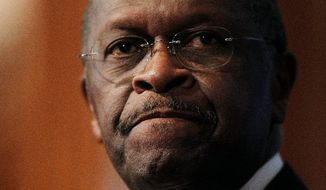 "In denying the allegations, Herman Cain said he thought his race influenced the decision to take the allegations public. ""I believe the answer is yes, but we do not have any evidence to support it,"" he said. (Associated Press)"