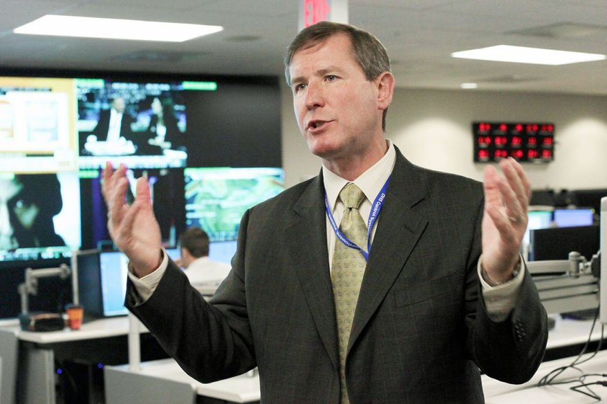 Sean P. McGurk, while with the Department of Homeland Security, confirmed that U.S. prisons are vulnerable to computer hackers. (Associated Press)