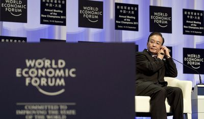 """""""I believe China's economy can achieve longer-term, better quality growth,"""" Premier Wen Jiabao told more than 1,500 industry, government, technology and civil society leaders at September's annual meeting of the New Champions - """"The Summer Davos"""" - held by the World Economic Forum at the Dalian World Expo Center in northeastern China."""