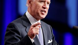 """There was speculation that Vice President Joseph R. Biden used Botox to smooth his brow before debating Sarah Palin during the 2008 campaign. """"The problem with Botox is that it makes you less expressive,"""" says Paul Ekman, emeritus professor of psychology at the University of California Medical School. (Associated Press)"""