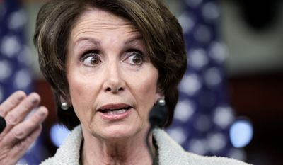 """""""A woman her age shouldn't look that good,"""" says Dr. Anthony Youn, a plastic surgeon, of House Minority Leader Nancy Pelosi, California Democrat. (Associated Press)"""