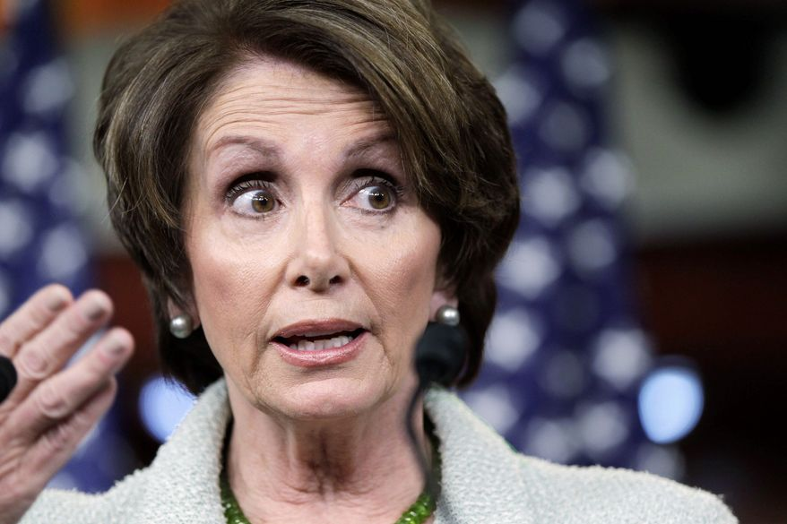 """A woman her age shouldn't look that good,"" says Dr. Anthony Youn, a plastic surgeon, of House Minority Leader Nancy Pelosi, California Democrat. (Associated Press)"
