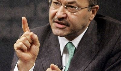 "Barham Salih, prime minister of the Kurdistan Regional Government, says a democratic,  federal Iraq ""may well represent a very viable option for the Kurds of Iraq."" (Associated Press)"