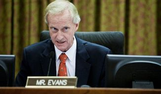 D.C. Council member Jack Evans (T.J. Kirkpatrick/The Washington Times)