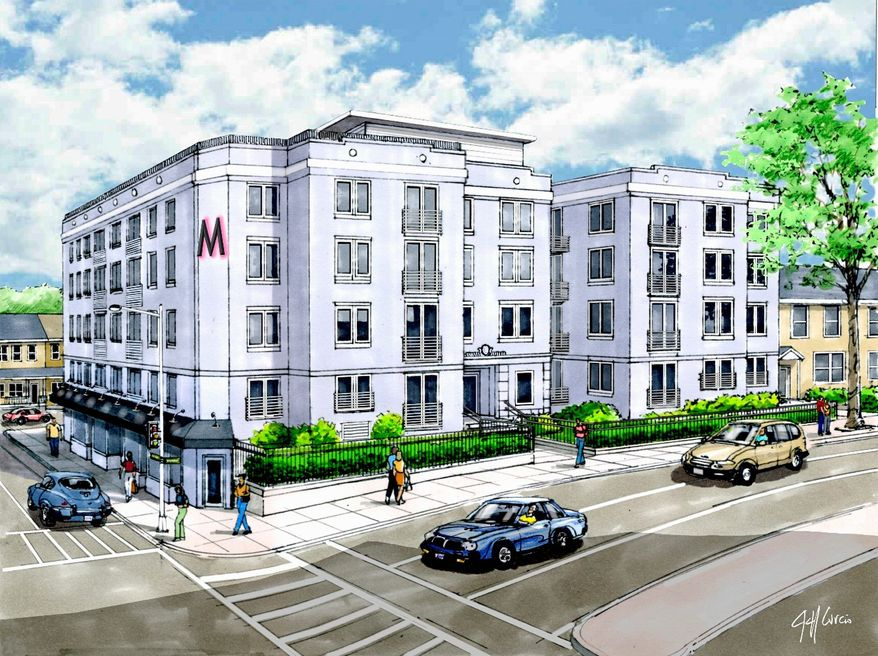 Apartments are being converted into condominiums at the Mint, at 329 Rhode Island Ave. NE. Sales will begin later this year on the one- and two-bedroom homes, which will be priced from the $200,000s.