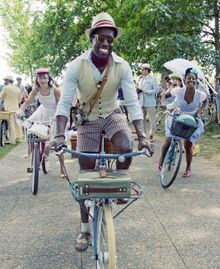 """On Nov. 13 in D.C, Dandies & Quaintrelles is sponsoring the 2011 Tweed Ride, which will feature """"multiple routes for riders of varying skill levels, so riders of all styles can happily cavort while decked out in your finest tweed attired."""""""