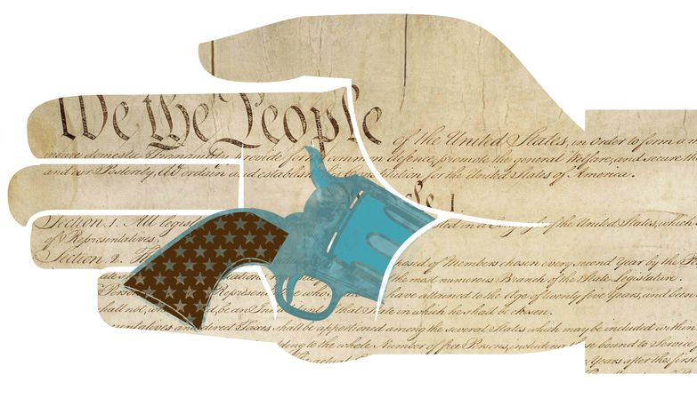 Illustration: Concealed carry by L